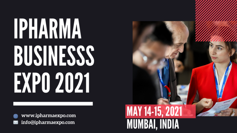International Pharmaceutical Business Expo - iPharma Expo 2021, India